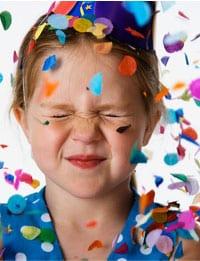 Det er kun fantasien der sætter grænser til en børnefødselsdag.