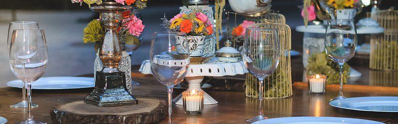 bordpynt til fest