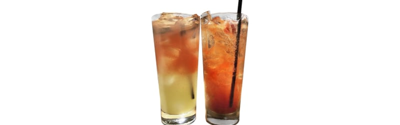 Her ser du en Gin Hass drink. Find en Gin Hass opskrift her på siden.