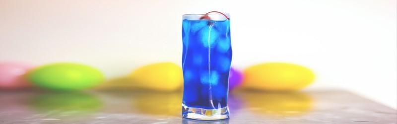 Her ser du en Isbjørn drink. Find en Isbjørn opskrift her på siden.