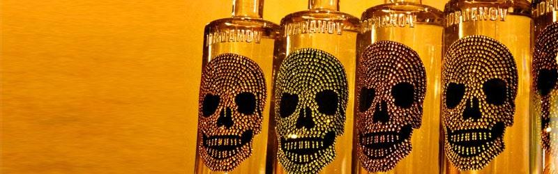 Her ser du flasker med tequila drinks. Find opskrifter på drinks med tequila her på siden.