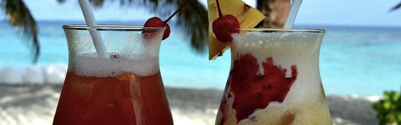 Her ser du lækre cocktail drinks.