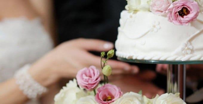 Traditionel bryllupskage