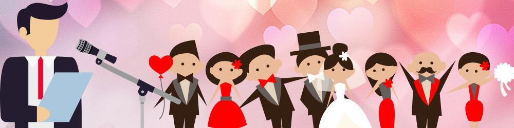 tale til bryllup