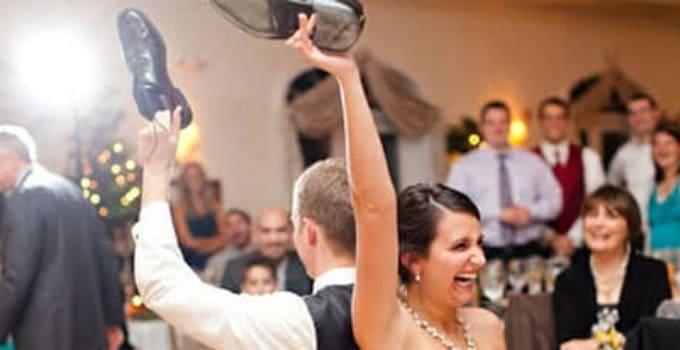 Selskabslege til bryllup