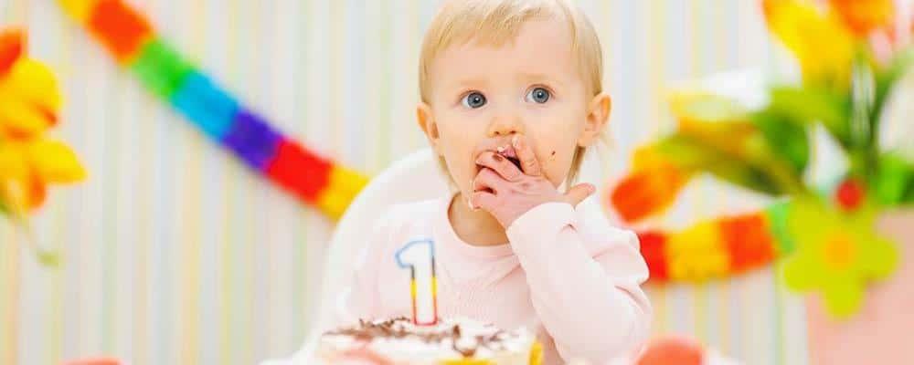 børnefødselsdag 1 år