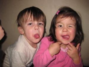 Sjove billeder af børn