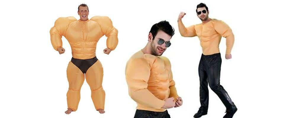 Læs om det fede bodybuilder kostume