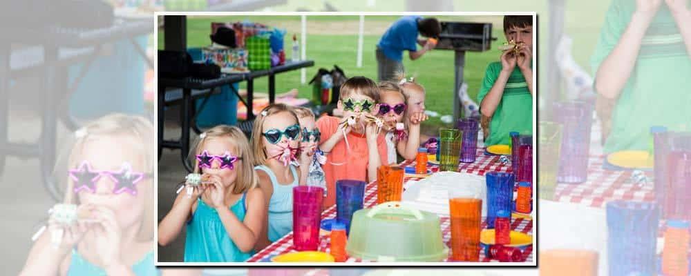 Børn til en 5-års fødselsdag