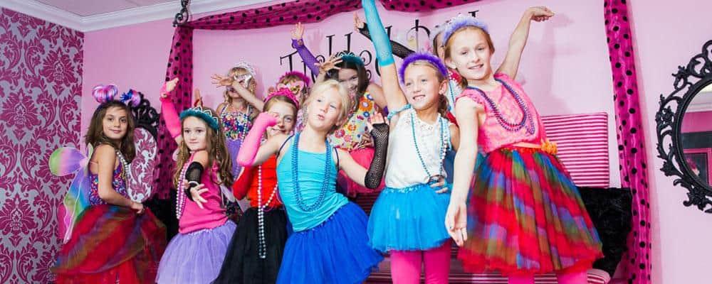 Børnefødselsdag 9 år til pigerne