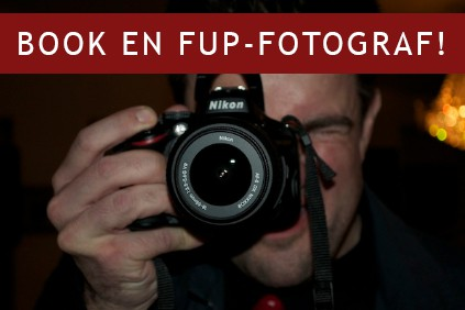 Reklame for festfotografen