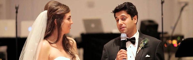 Hvordan skriver gommen en god tale til bruden?