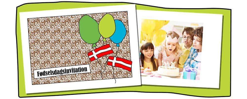 Invitationer til børnefødselsdag