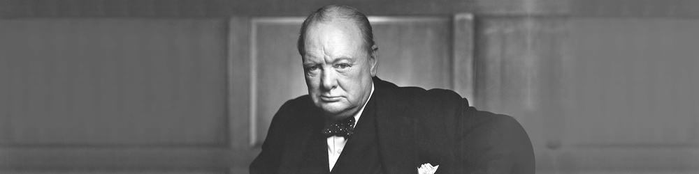 Hør Winston Churchill tale her