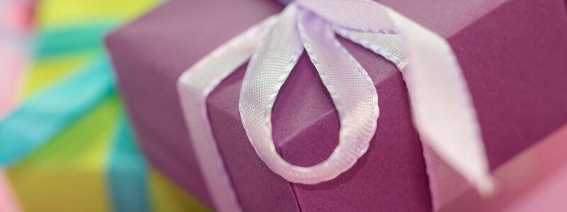 Kulørte romantiske gaver
