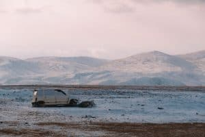 Ørken sne