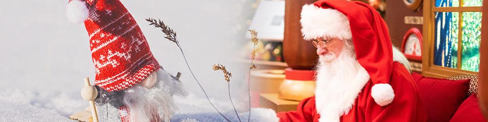 Billede der viser julemænd og julenisser