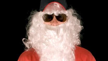 Julemænd med solbriller