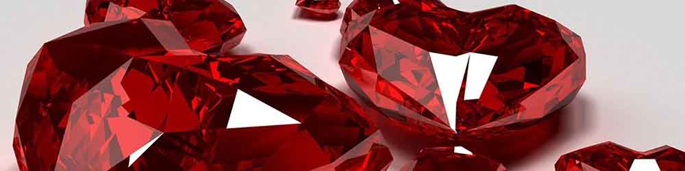 Rubiner er symbolet på 40 år med den samme ægtefælde