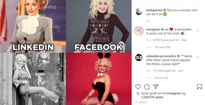 Dolly Parton Challange - et symbol på den digitale selvrealisering?
