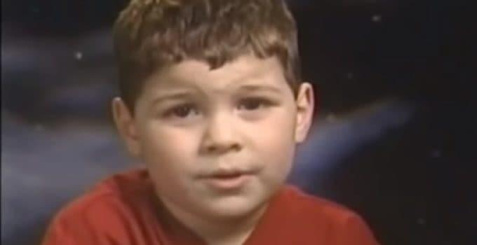 38 millioner visninger til barnet med det mystiske spørgsmål