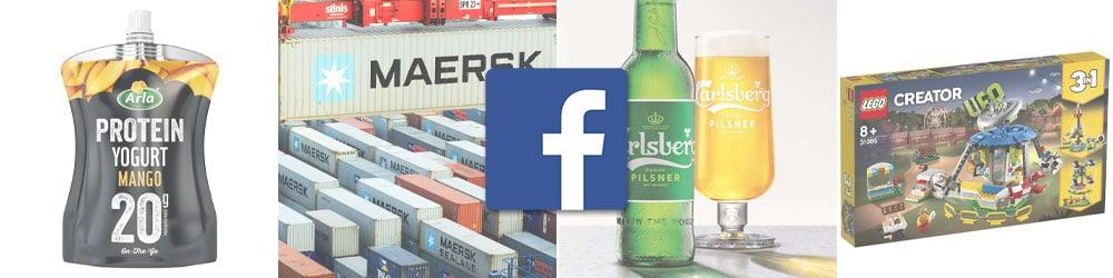 De 10 mest likede danske virksomheder på Facebook
